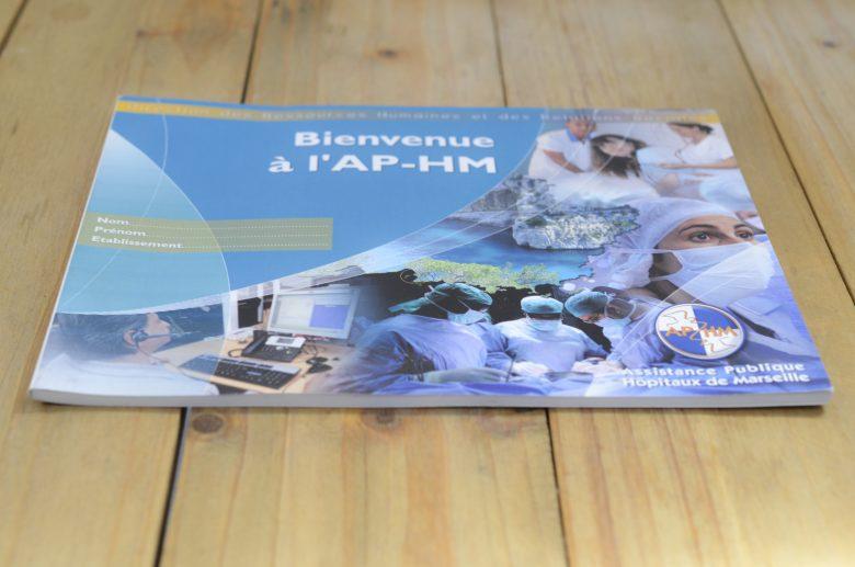 Création du livret d'accueil du personnel de l'Assistance Publique Hôpitaux de Marseille