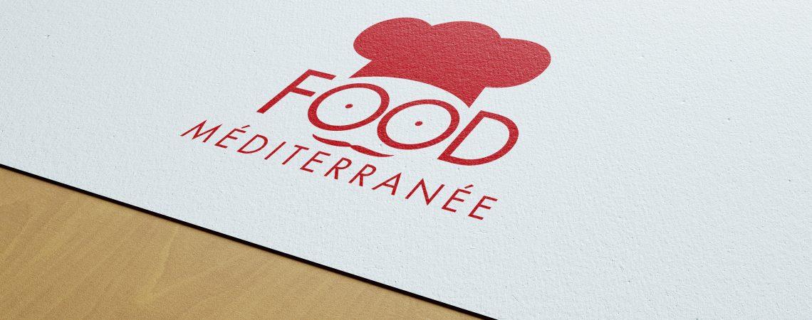 """Création du logo pour la marque """"Food Méditerranée"""", créateurs artisanaux de produits d'épicerie fine à Six Fours les Plages dans le var."""