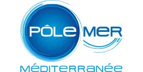 Graphiste à Toulon / logo pôle mer méditerranée