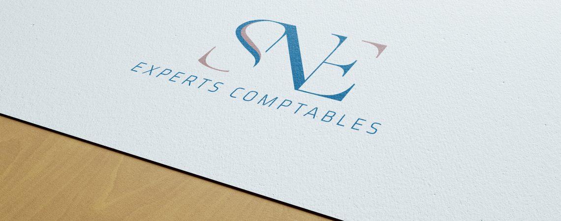 """Création du logo pour le cabinet d'expertise comptable """"SNE"""" situé à Toulon dans le var"""