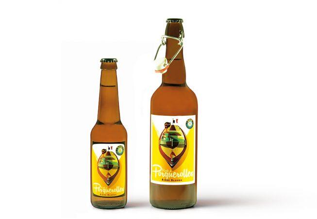 Packshot bouteilles de bière